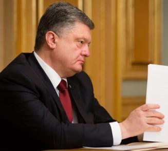 "Porosenko: Vizita lui Putin in Crimeea este o ""sfidare la adresa lumii civilizate"""