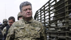 Porosenko a prezentat in fata natiunii planul de pace - include un dialog cu separatistii