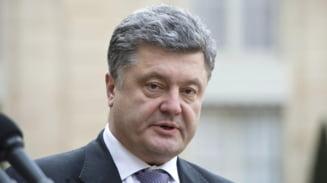 Porosenko compara Ucraina cu Somalia: Sunt un presedinte al pacii, nu al razboiului