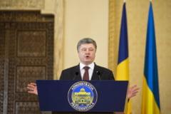 Porosenko promite: Vom recupera estul Ucrainei si Crimeea!