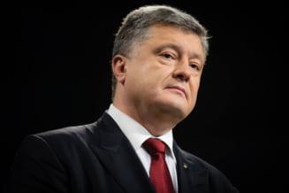 Porosenko vede tot mai aproape un razboi cu Rusia: Putin nu recunoaste frontierele
