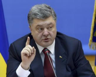 Porosenko vrea o misiune europeana de pace in estul Ucrainei