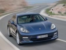 Porsche Panamera s-a lansat in Romania