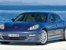 Porsche Panamera vine dotat cu tapiteria din casa clientului