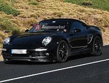Porsche testeaza noul 911 Cabrio (Galerie foto)