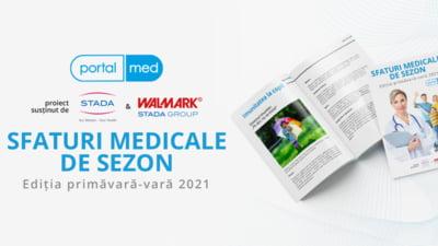 """PortalMed ofera publicului un e-book gratuit cu """"Sfaturi medicale de sezon"""""""