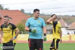 Portarul Catalin Suciu, intr-un moment de rascruce al carierei! Goalkeeperul Industriei Galda de Jos vrea sa renunte la fotbal pana la vara