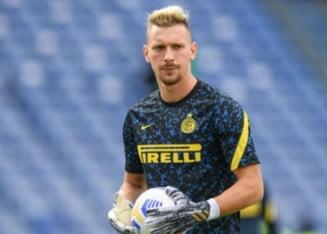 """Portarul Ionut Radu a castigat titlul in Italia, dar a fost """"ars"""" la bani. Presedintele lui Inter i-a socat pe fotbalisti"""