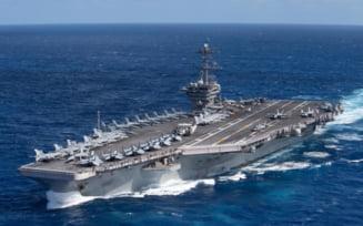 Portavionul american USS Theodore Roosevelt a intrat in Marea Chinei de Sud in contextul tensiunilor dintre Washington si Beijing