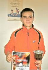 Portret de campion Madalin Bucur, triplu medaliat in anul 2009