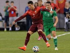 Portugalia a strivit Irlanda. Vesti bune despre Cristiano Ronaldo