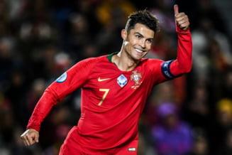 Portugalia lui Ronaldo se califica la EURO 2020