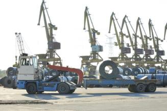Portul mineralier Romportmet va fi vandut odata cu combinatul siderurgic