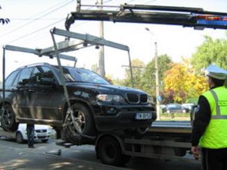Poteras cauta firma care sa ridice masinile din sectorul 6