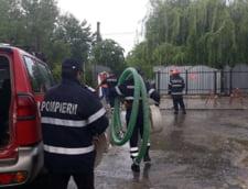 Potop in Pitesti: Mai multe institutii, intre care Curtea de Apel, au fost inundate