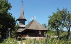 Povestea bisericii calatoare de la Jercalai. Construita in Mures, a fost mutata la Castelul Bran si apoi stramutata in Prahova, pentru ca devenise bodega