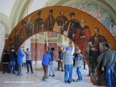 Povestea picturii din Sala Unirii de la Alba: realizata de un francez, sfasiata de comunisti, refacuta la Sibiu