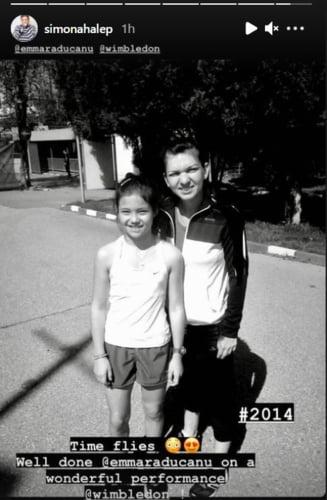 Povestea pozei cu Simona Halep și Emma Răducanu! Ce au discutat cele două la New York