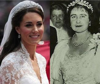 Povestea tiarei purtate de Kate la nunta cu printul William