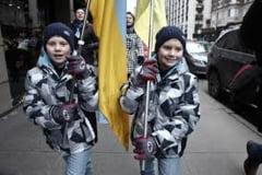 Povestea trista a copiilor din Ucraina afectati de razboi