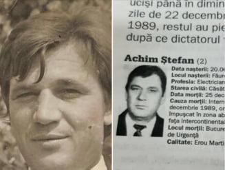 """Povestea unuia dintre primii eroi impuscati in Bucuresti la Revolutie. Se numara printre cei 52 de martiri ucisi pentru ca strigat """"Libertate!"""""""