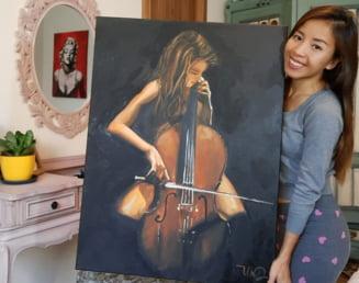 Povestea vietnamezei Thu Ha, pictorița care a lăsat cel mai mare oraș din Vietnam pentru Alba Iulia FOTO