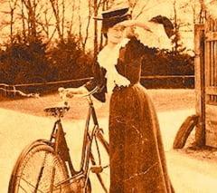 """Povesti de Bucuresti. Mita Biciclista, """"superbul exemplar"""" care i-a intrat in gratii Regelui Ferdinand I"""