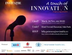 Povestile de succes se spun la A Touch Of Innovation
