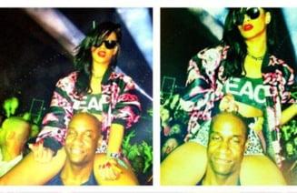 Poze cu Rihanna care se drogheaza, pe Twitter?