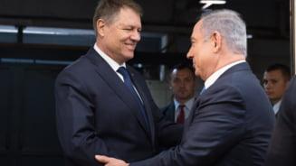 Pozitia lui Iohannis in scandalul Ierusalimului: Ce i-a spus lui Netanyahu de mutarea ambasadei