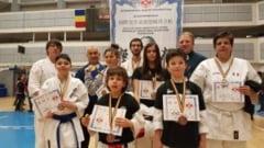 Practicantii Karate Kyokushin de la Clubul Sportiv Budo Apulum din Alba Iulia - 14 medalii la Sibiu