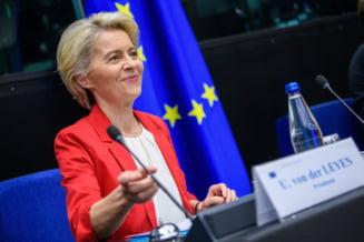 Preşedintele Comisiei Europene vine la Bucureşti. Cu cine se va întâlni Ursula von der Leyen
