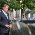Preşedintele Iohannis, la memorialul victimelor atentatelor din 11 septembrie de la New York