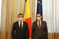 Preşedintele Parlamentului Republicii Moldova Igor Grosu, invitat la București de Ludovic Orban