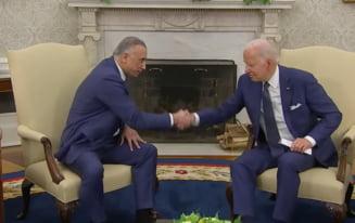 Președintele american Joe Biden și premierul irakian Mustafa al-Kadhimi au semnat un acord istoric. Armata americană încheie misiunile de luptă în Irak