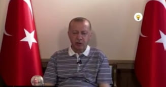 Președintele turc Recep Tayyip Erdogan a ațipit în timpul unui discurs transmis în direct VIDEO