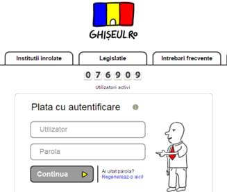 Prea putini romani isi platesc taxele online - Ministrul Bostan: Suma e ridicol de mica