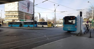 Precizarile STB dupa ce un autobuz nou cumparat de Firea s-a umplut cu apa fiarta