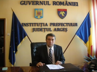 Prefectul de Arges, prins intre ciocan si nicovala in cazul Constantin Nicolescu