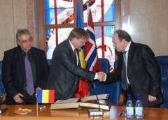 Prefectul si vicepresedintele CJ au plecat in Norvegia