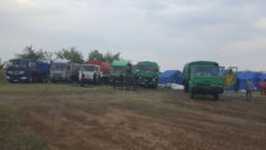 Pregatirile din taberele pentru refugiati in Romania, in imagini (Foto & Video)