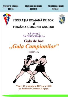 Premiera absoluta - Gala de box pe stadion la Gugesti!