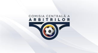 Premiera in Liga 1: sase arbitri la un joc