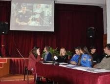 Premiera in Romania: Mai multi elevi au vorbit in direct cu un astronaut de pe Statia Spatiala Internationala