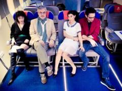 Premiera in Romania: piesa de teatru jucata intr-un aeroport