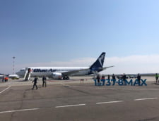 Premiera in aviatia romaneasca: Blue Air a intrat in posesia primei aeronave Boeing 737-8 MAX