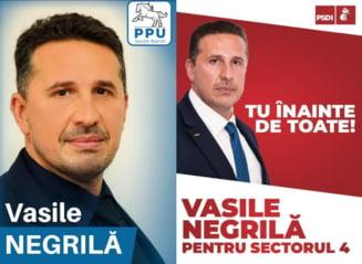 Premiera in politica din Romania: Unul dintre candidatii la Primaria Sectorului 4 a inceput campania electorala cu un partid si o incheie cu altul