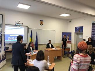 "Premiera in scoli: VeDem Just a lansat primul ""Laborator de educatie juridica"" (Video)"
