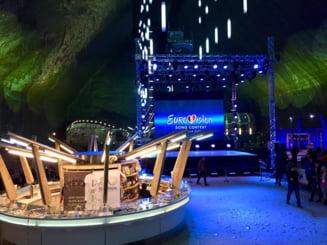 Premiera la Eurovision: Semifinala de duminica va avea loc in Salina Turda, la 90 de metri adancime