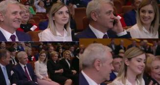 Premiera la PSD: Iubita de 25 de ani a lui Dragnea, prezenta in primul rand la Congres, langa Dancila si Firea